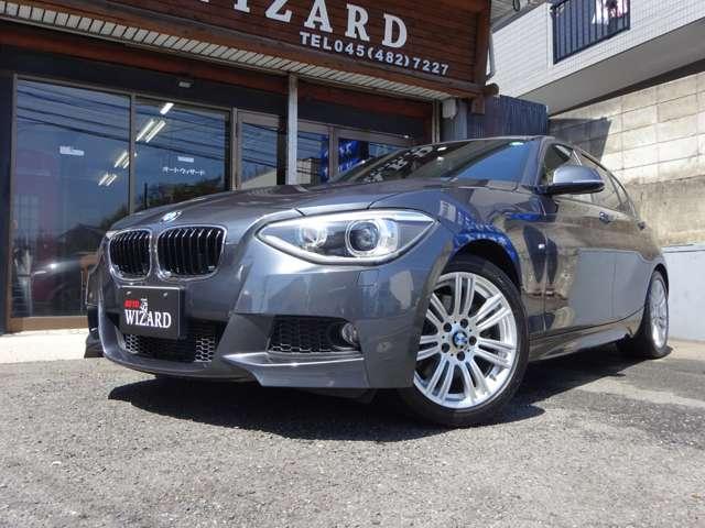 BMW 116i Mスポーツ(ガンメタリック)
