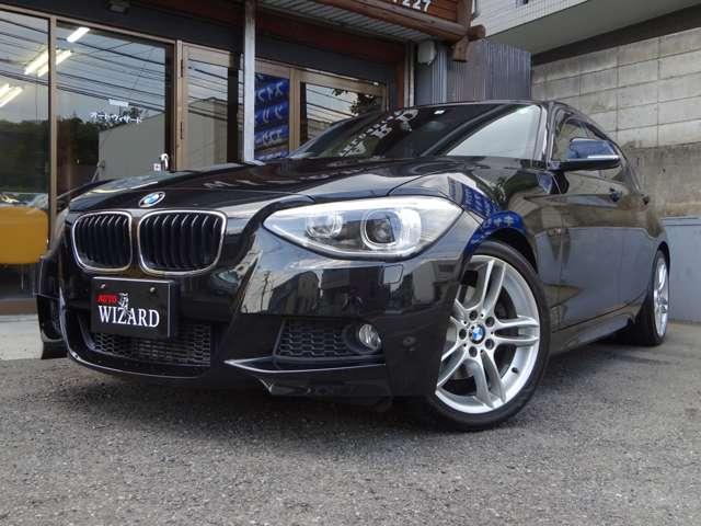 AUTO WIZARD|BMW 116i Mスポーツパッケージ|NAVI・バックカメラ・ETC・走行1.9万キロ(ブラック)
