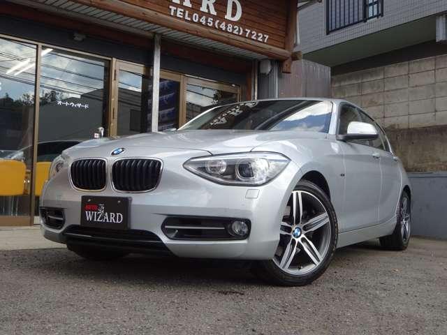 AUTO WIZARD|BMW 120i スポーツ NAVI・ETC・走行1.4万キロ (シルバー)